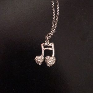 Juicy Couture music necklace